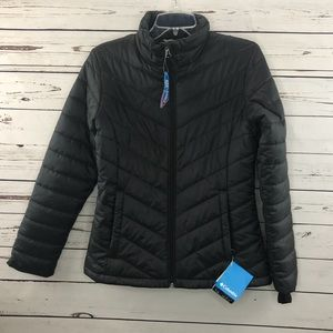 Columbia morning light jacket black SZ:S NWT